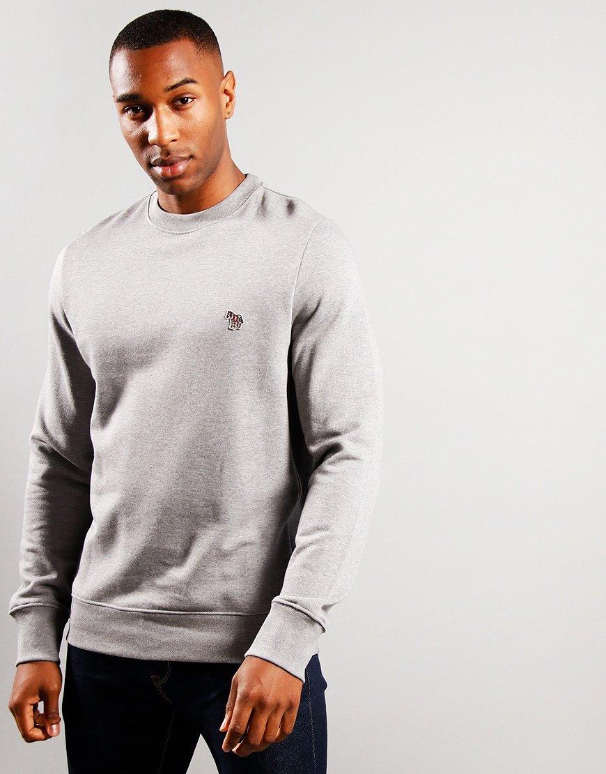 Paul Smith Zebra Logo Sweatshirt Grey Melange