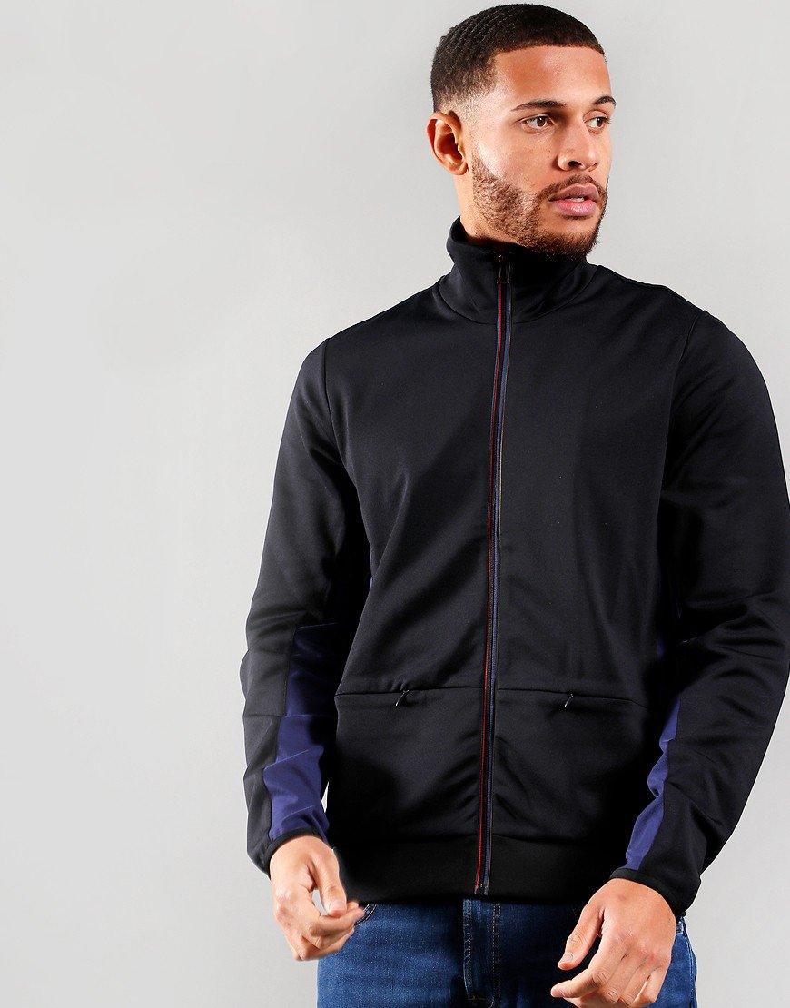 Paul Smith Sports Stripe Track Top Black