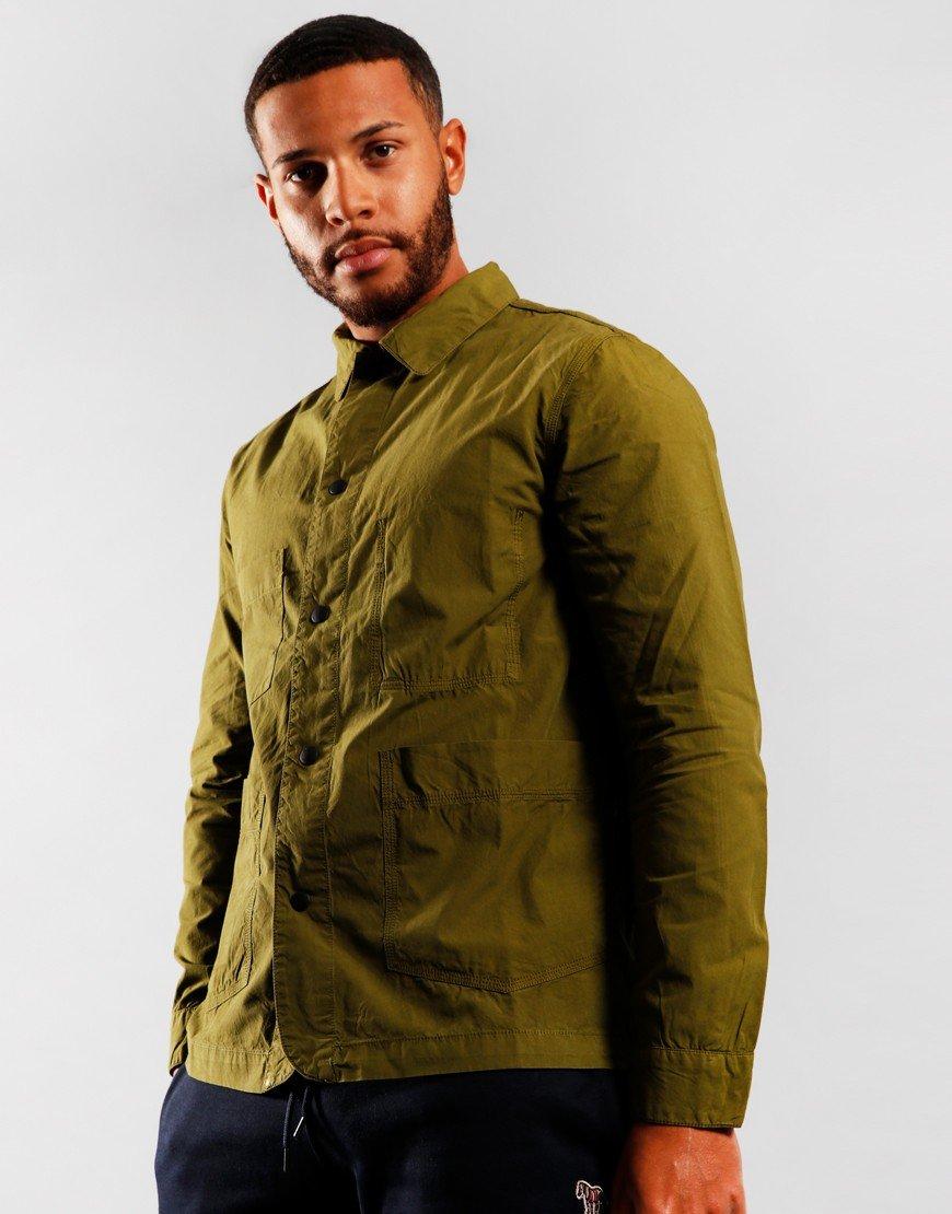 Paul Smith Railwayman Overshirt Green