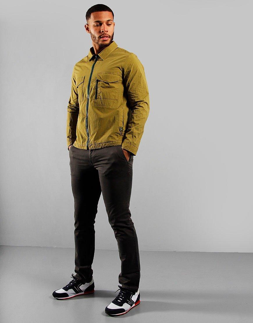 Paul Smith Zip Overshirt Green