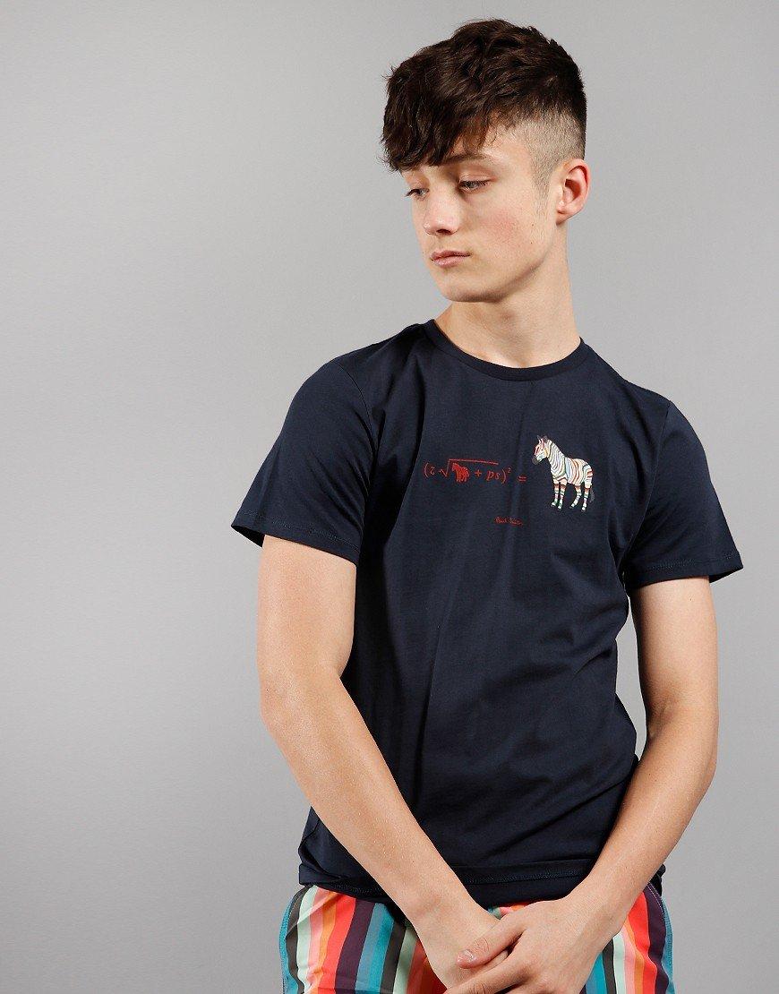Paul Smith Junior Aban T-Shirt Navy