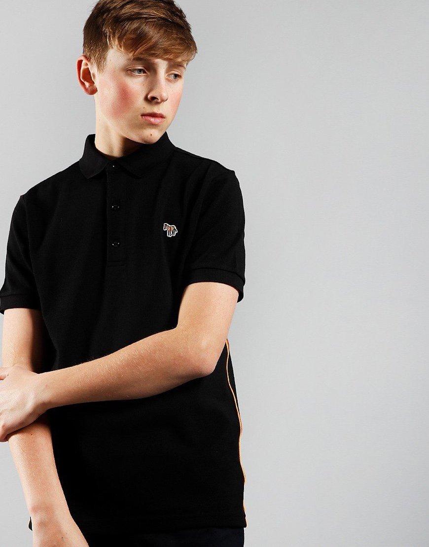 Paul Smith Kids Adulo Polo Shirt Black