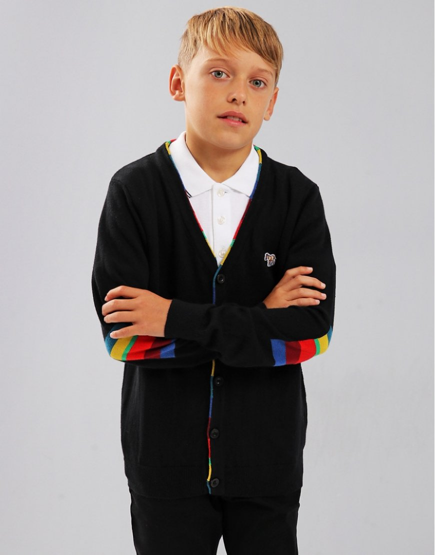 Paul Smith Junior Si Cardigan Black