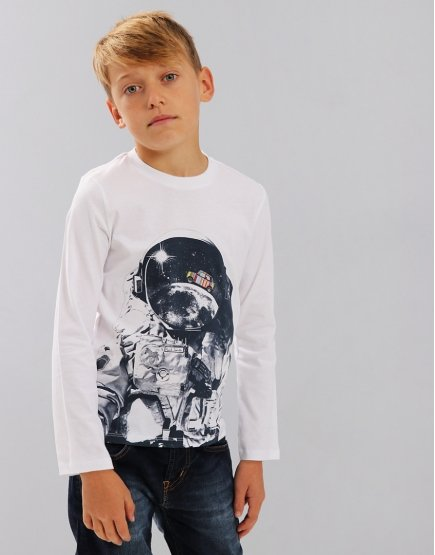 Paul Smith Junior Steven T-shirt White