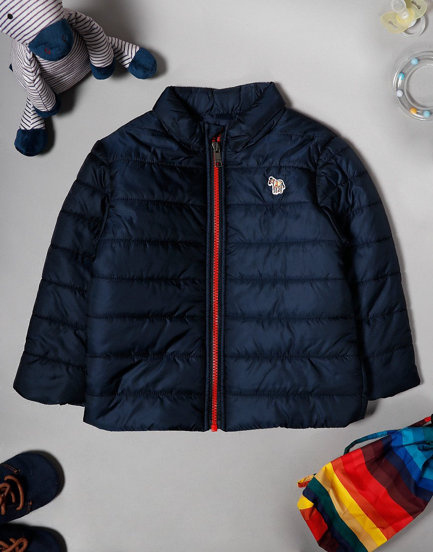 Paul Smith Baby Volker Packable Quilted Jacket Navy