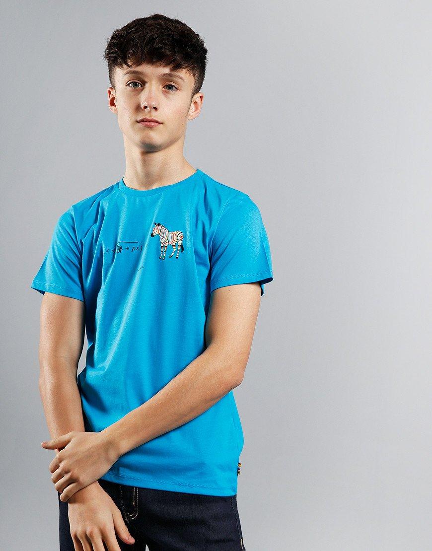 Paul Smith Junior Aban T-Shirt Blue Danube