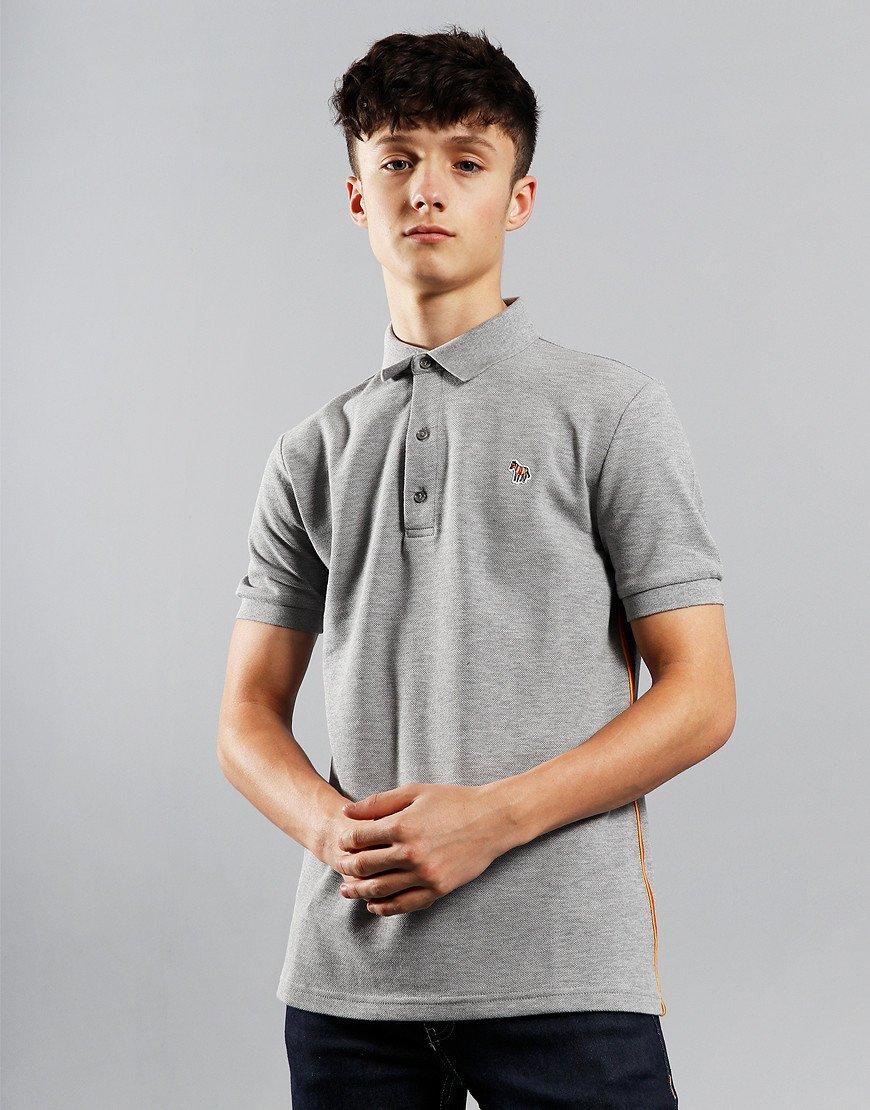 Paul Smith Junior Adulo 2 Polo Shirt Marl Grey