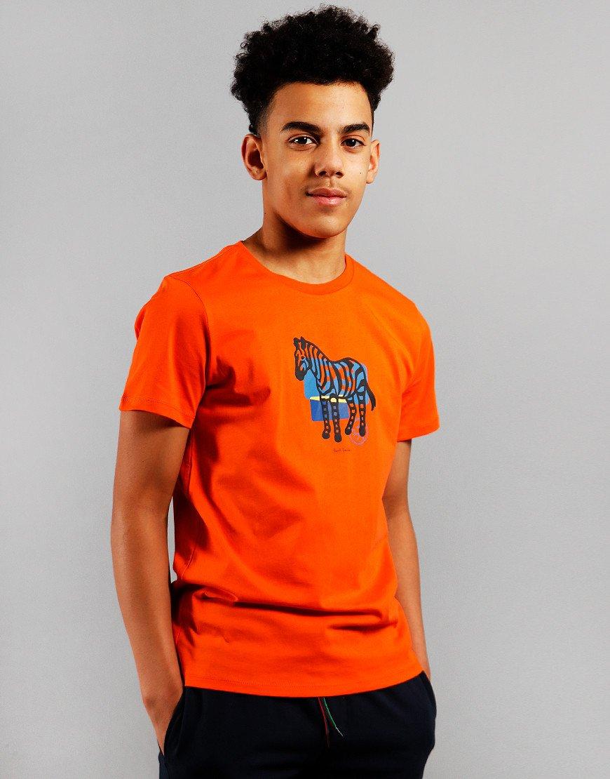 Paul Smith Junior Amolo T-Shirt Orangeade
