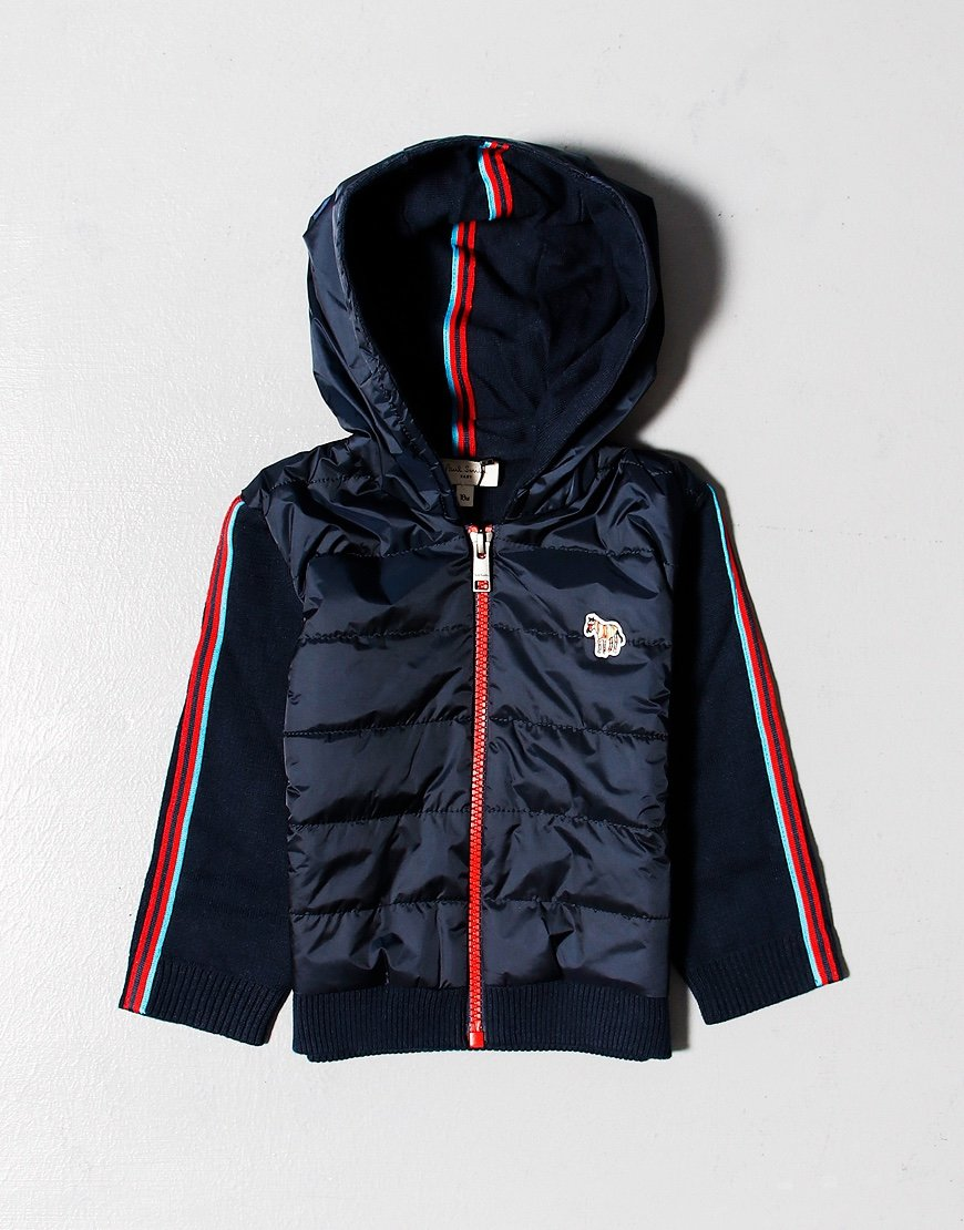 Paul Smith Junior Bubule Hoodie Navy