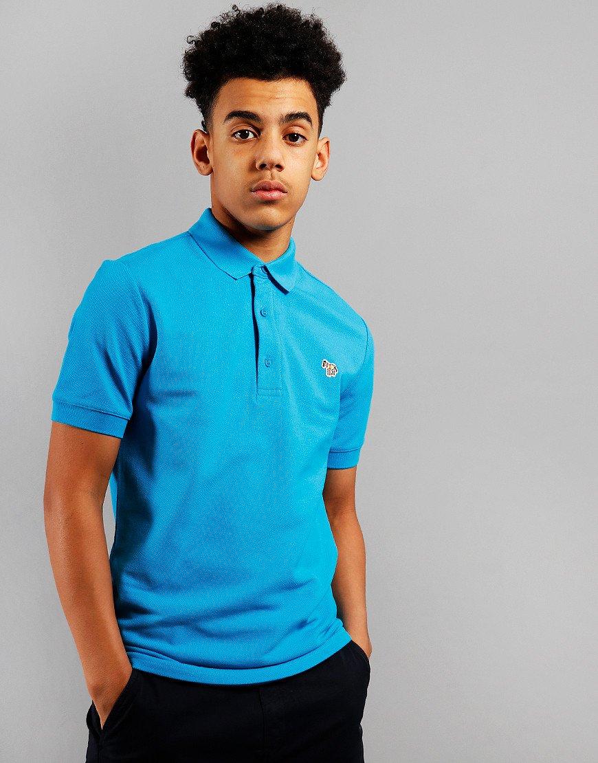 Paul Smith Junior Ridley Per Polo Shirt Blue Danube