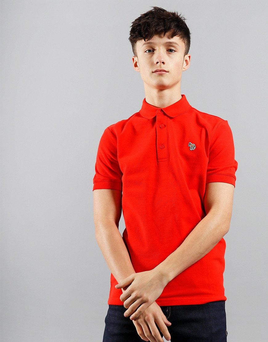 Paul Smith Junior Ridley Per Polo Shirt Scarlet Red