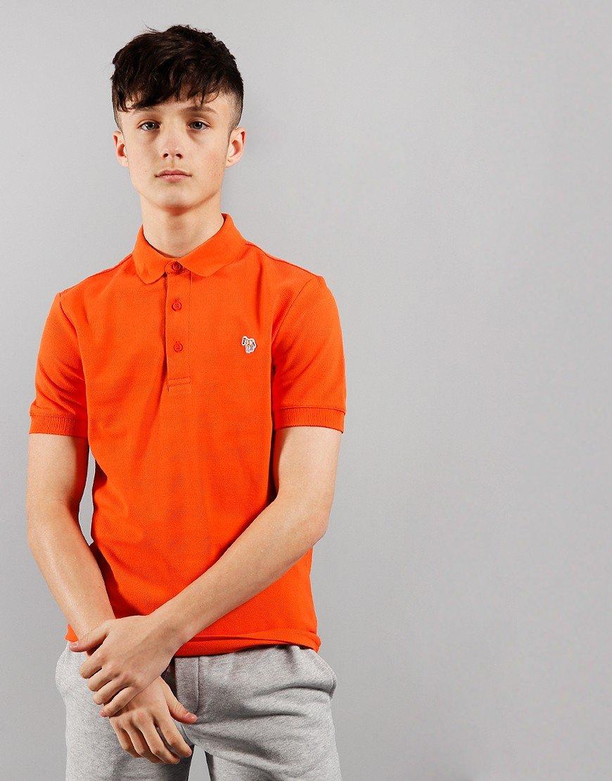 Paul Smith Junior Ridley Per Polo Shirt Orangeade