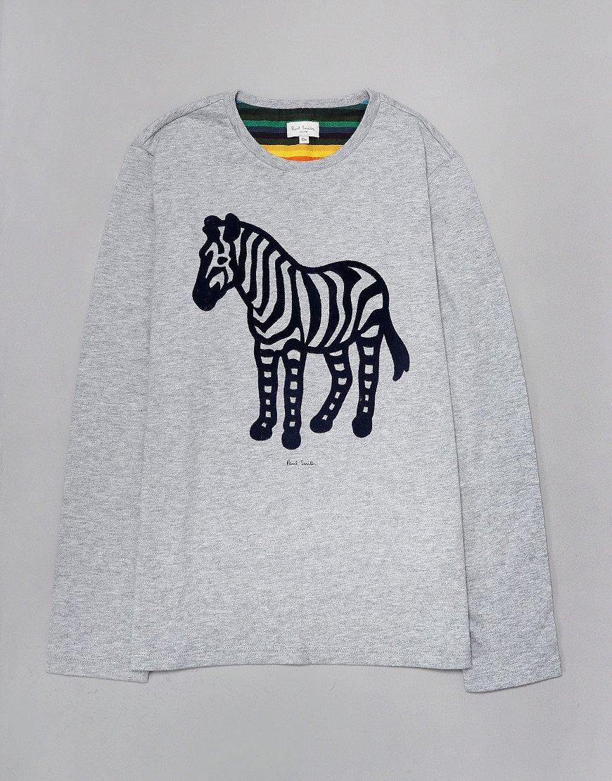Paul Smith Junior Vazo Long Sleeve T-Shirt Marl Grey