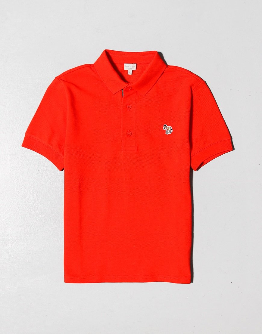 Paul Smith Junior Ridley Polo Shirt Goji Red