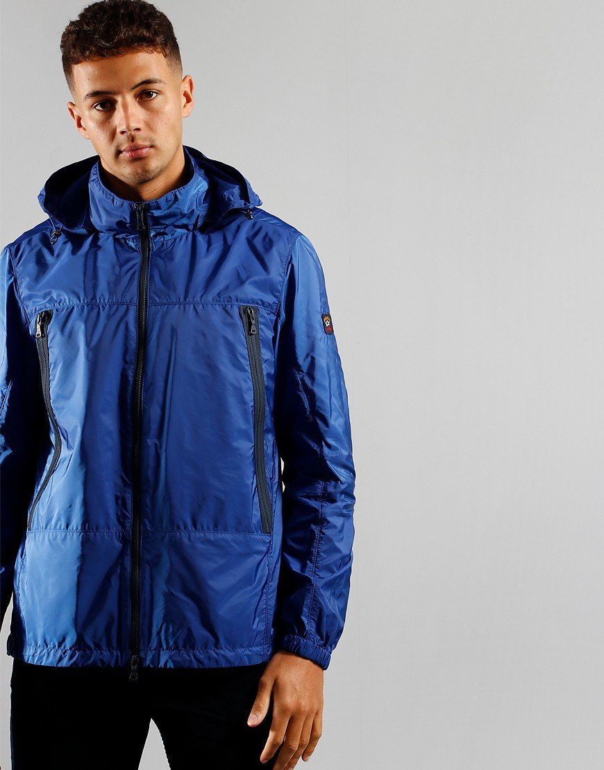 Paul & Shark Hooded Jacket Royal blue