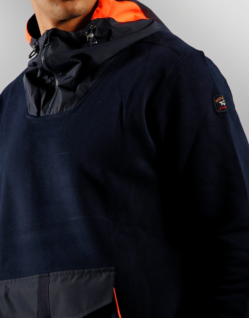 Paul & Shark Front Pocket Sweat Navy