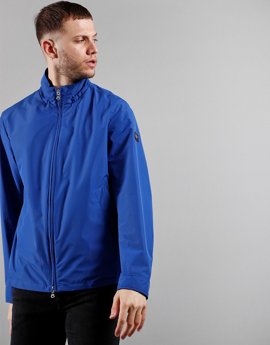Paul & Shark Woven Jacket Cobalt Blue