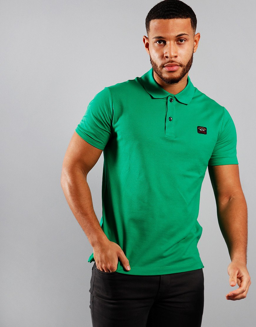 Paul & Shark Basic Polo Shirt Green