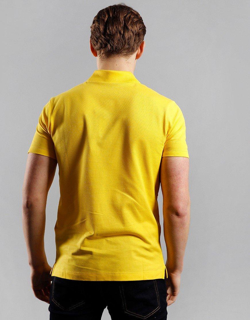 Paul & Shark Basic Polo Shirt Yellow