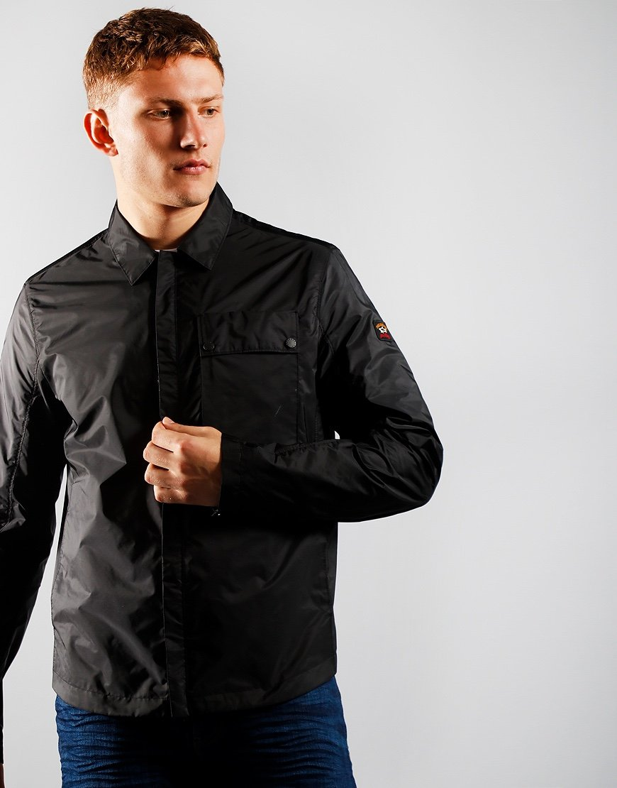 Paul & Shark Pocket Overshirt Black