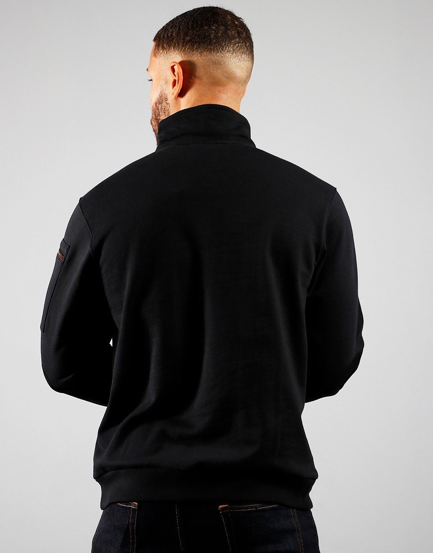 Paul & Shark Zip Neck Sweat Black