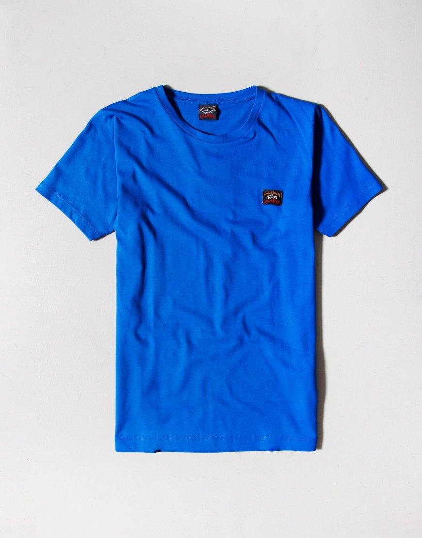 Paul & Shark Cadets Small Patch T-Shirt Cobalt Blue