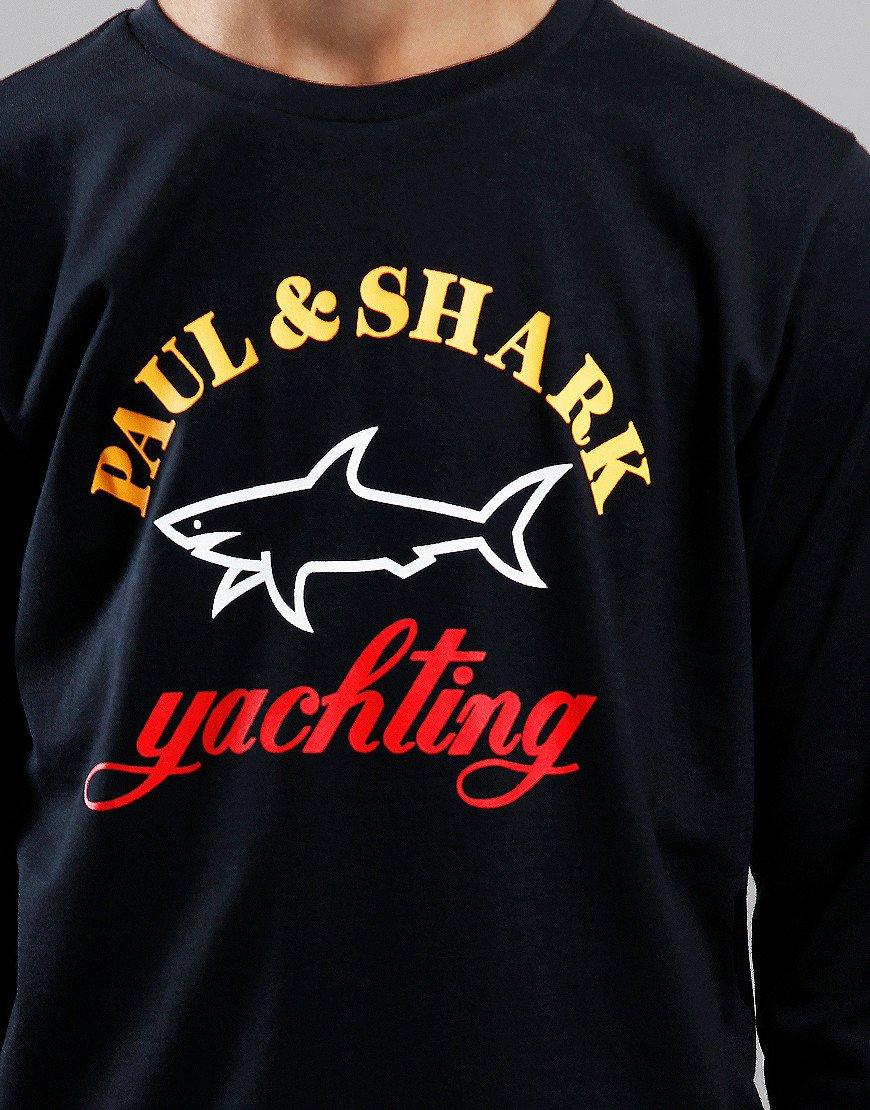 Paul & Shark Cadets Yachting Logo Sweat Black