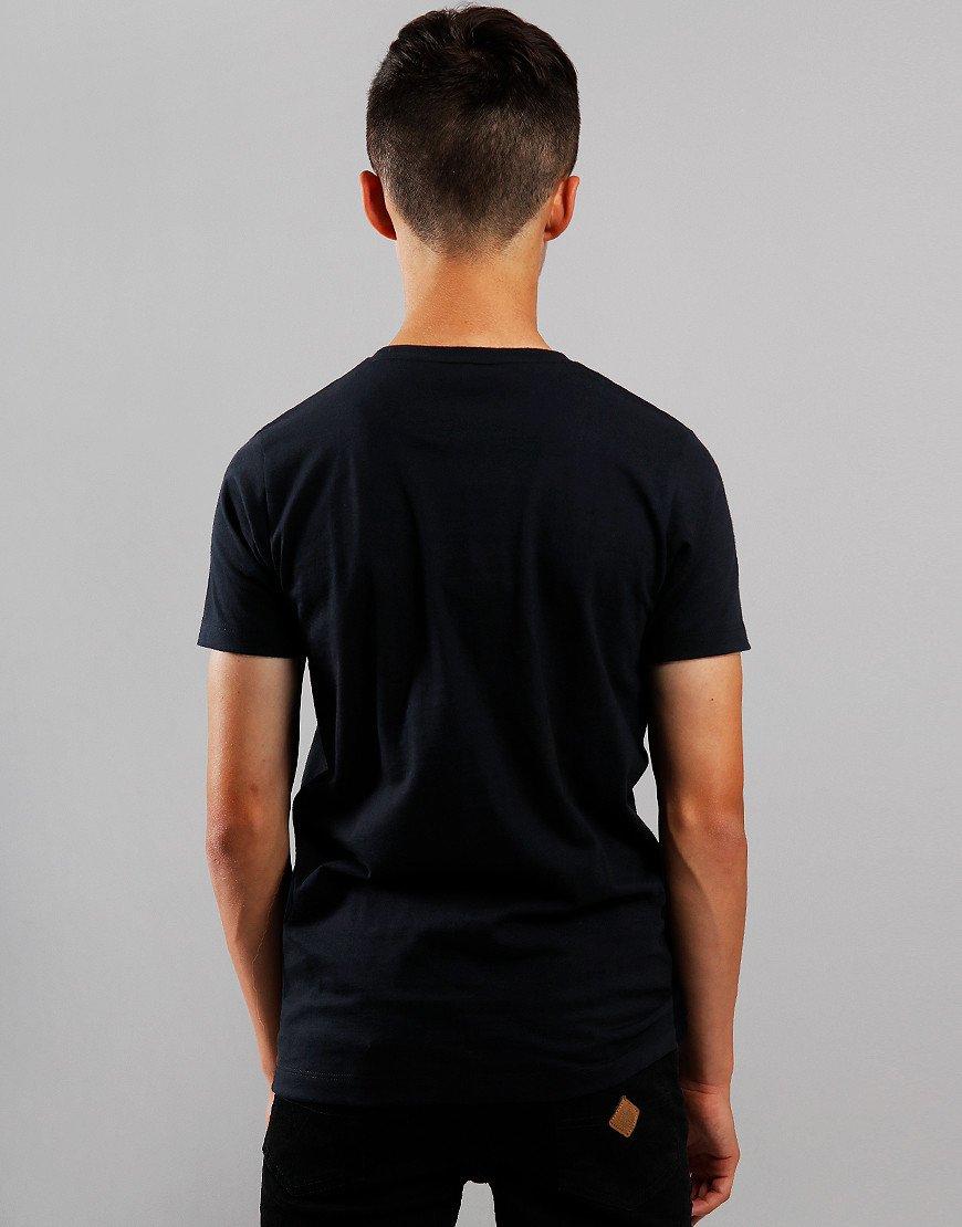 Paul & Shark Cadets Large Logo T-Shirt Black