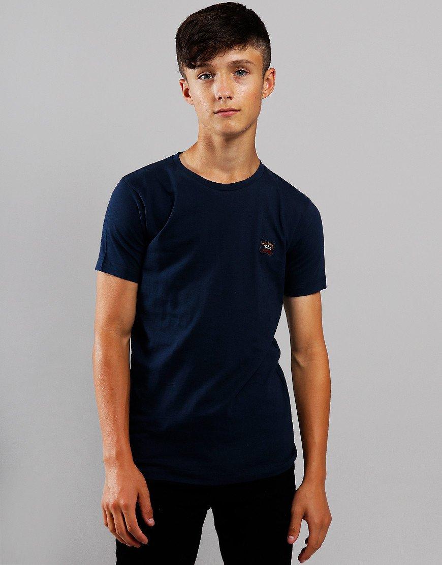 Paul & Shark Cadets Small Patch T-Shirt Blue