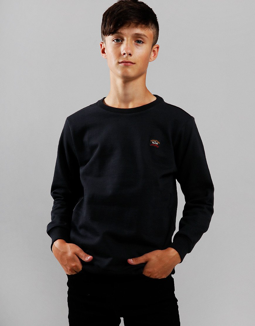 Paul & Shark Cadets Crew Neck Sweat Black
