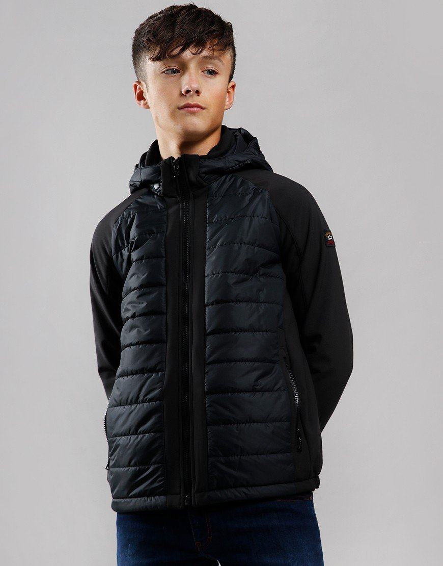 Paul & Shark Cadets Padded Shell Jacket Black