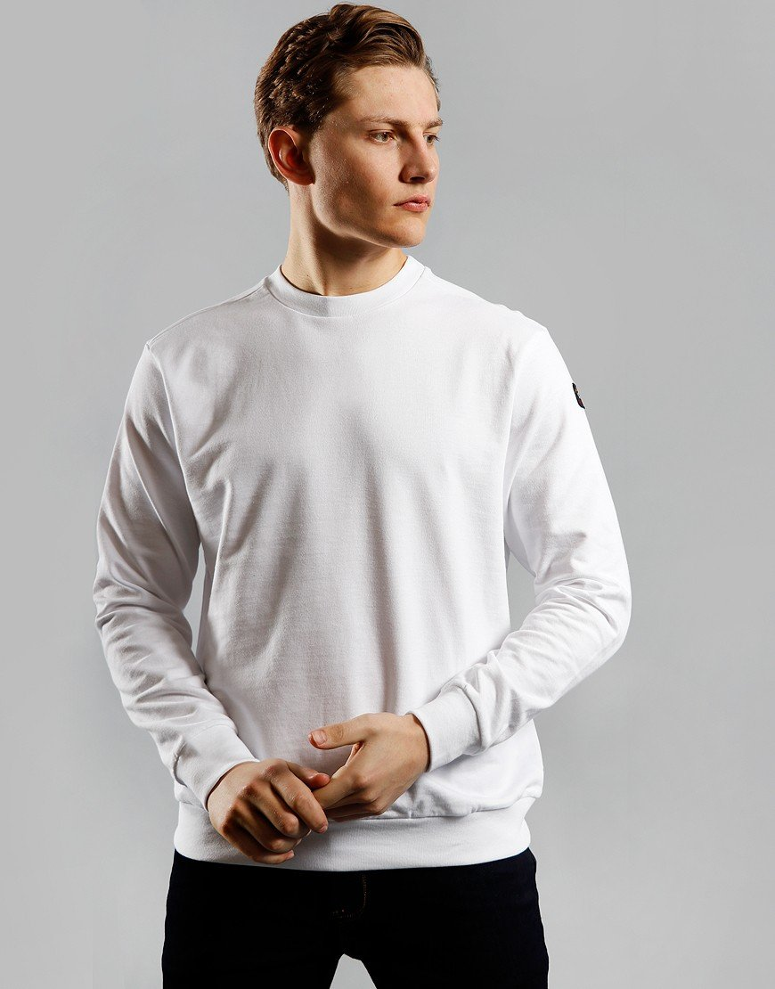 Paul & Shark Crew Neck Sweat White