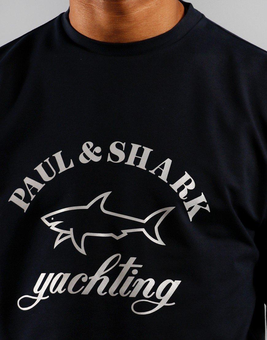 Paul & Shark Logo Sweat Blue