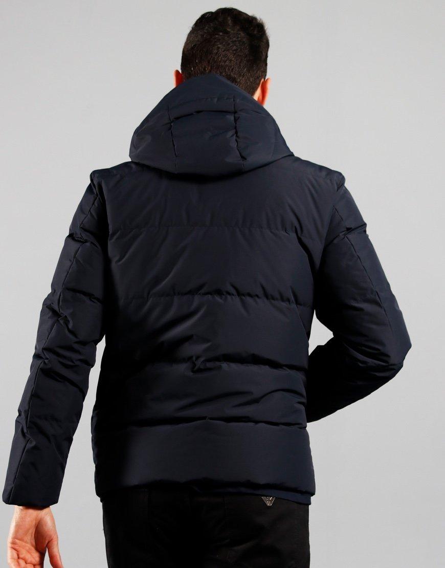 Paul & Shark Typhoon 2000 Stand Collar Jacket Blue
