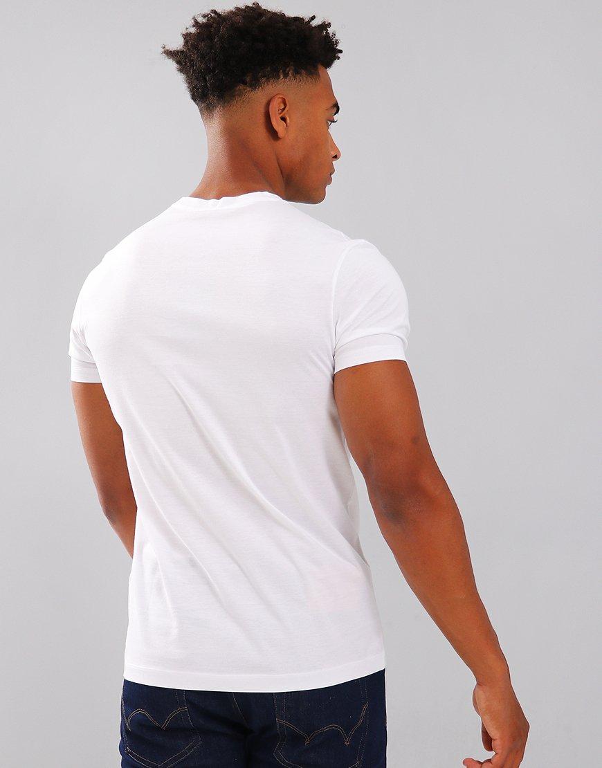 Paul & Shark Logo Patch Crew T-Shirt White