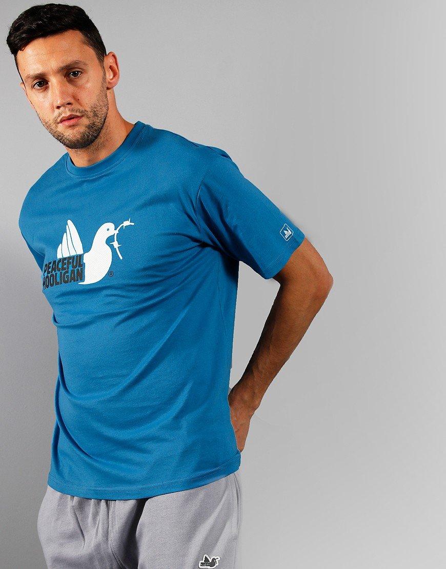 Peaceful Hooligan 2 Colour Dove T-Shirt Vallarta