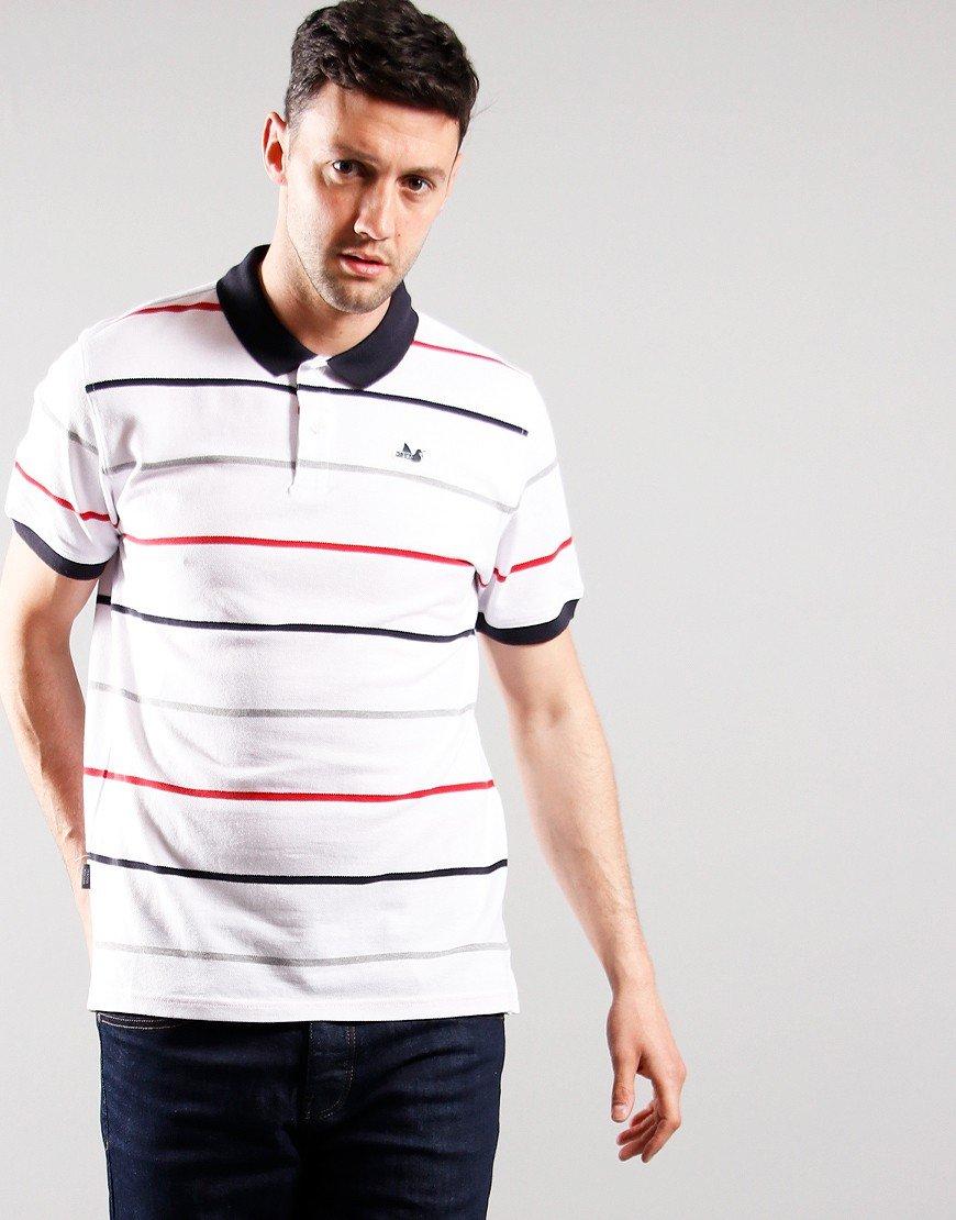 Peaceful Hooligan Carlton Polo Shirt White