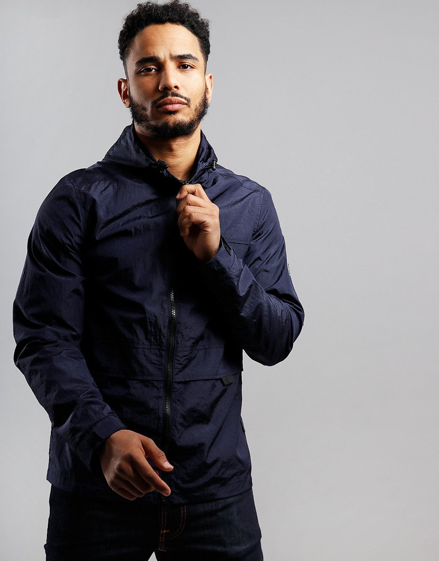 Peaceful Hooligan Compass Jacket Navy