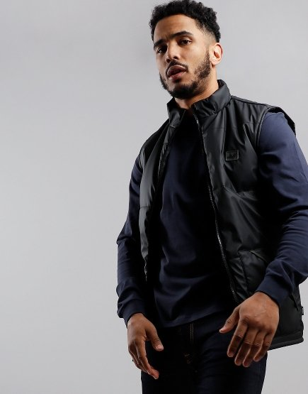 Peaceful Hooligan Edison Gilet Black
