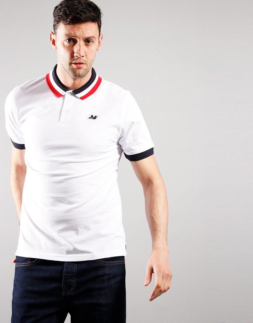 Peaceful Hooligan Felix Polo Shirt White