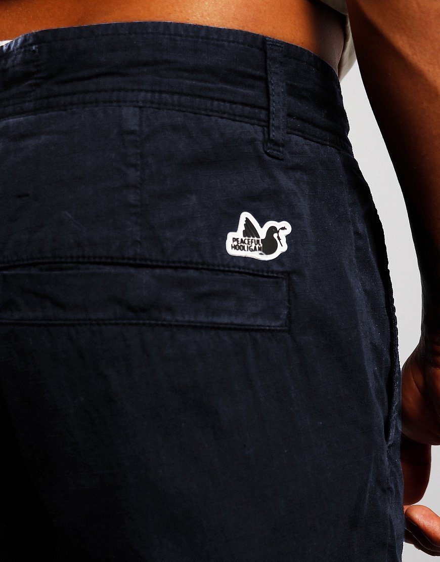 Peaceful Hooligan Arnold Cargo Pants Navy