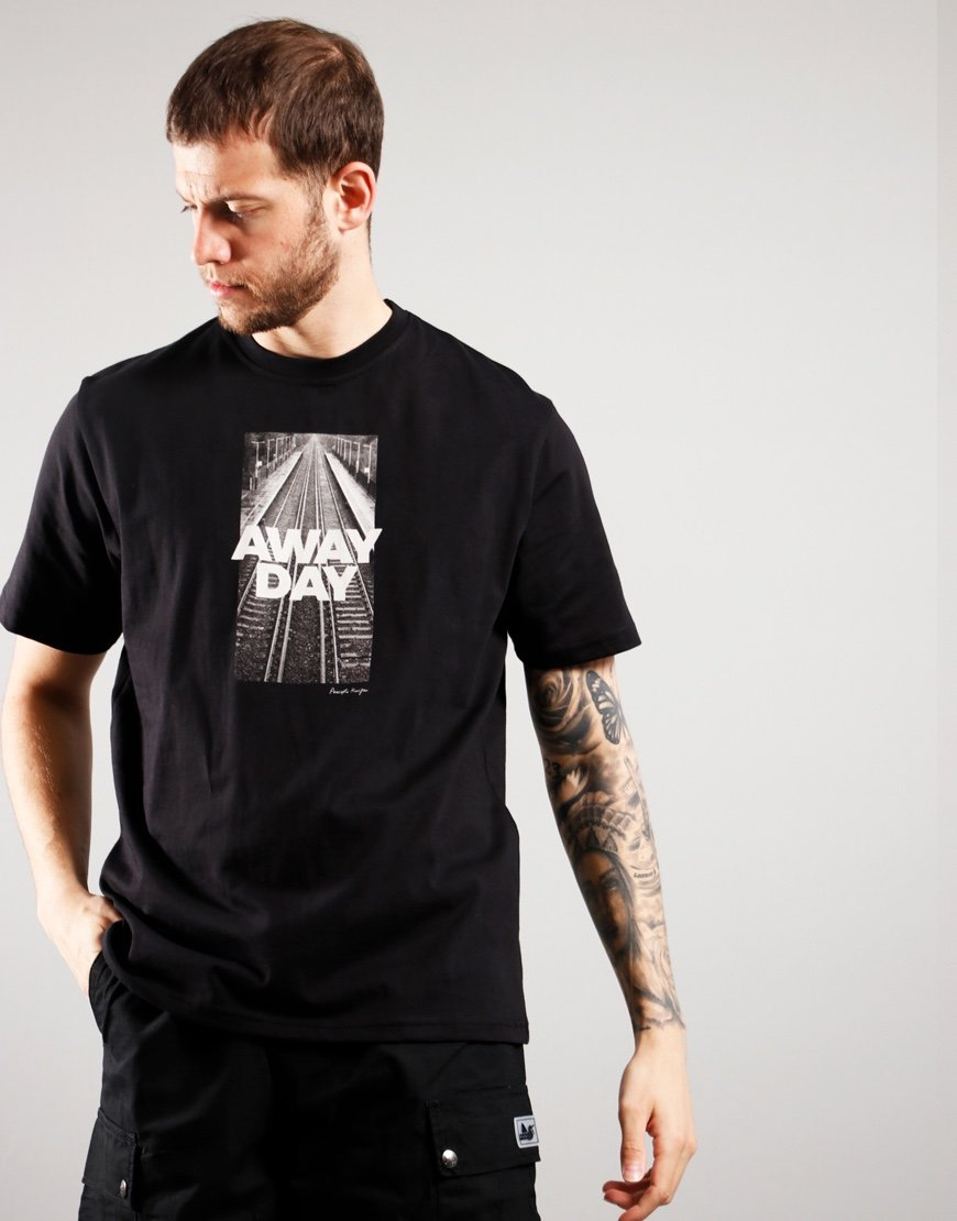 Peaceful Hooligan Awaydays T-Shirt Black