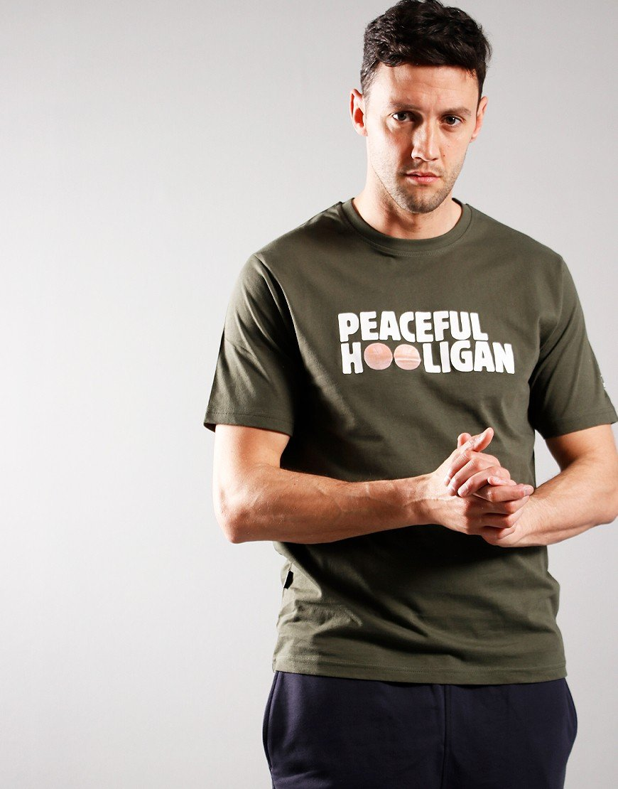 Peaceful Hooligan Banks T-Shirt Forest