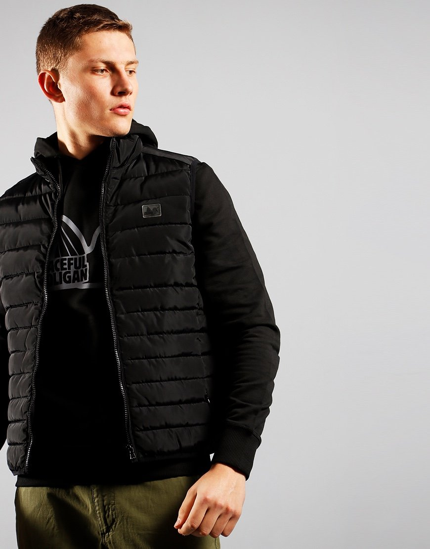 Peaceful Hooligan Base Gilet Black