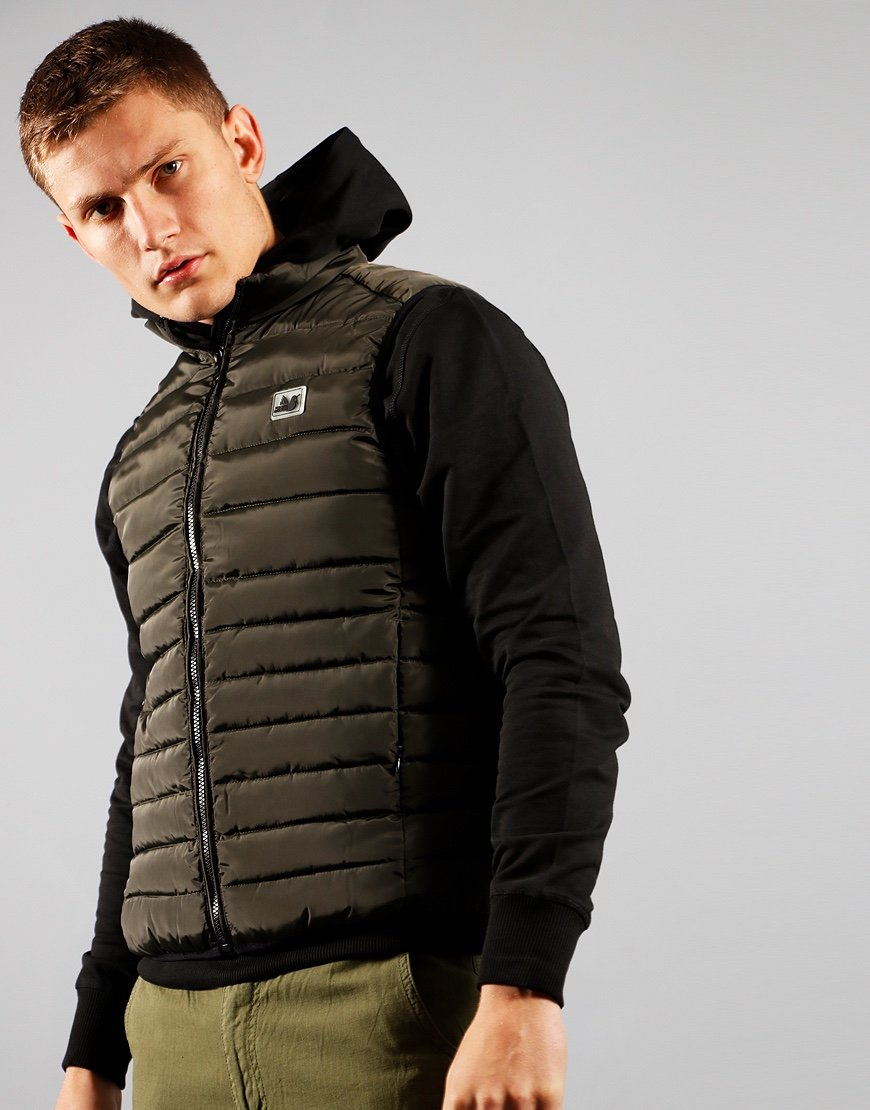 Peaceful Hooligan Base Gilet Khaki