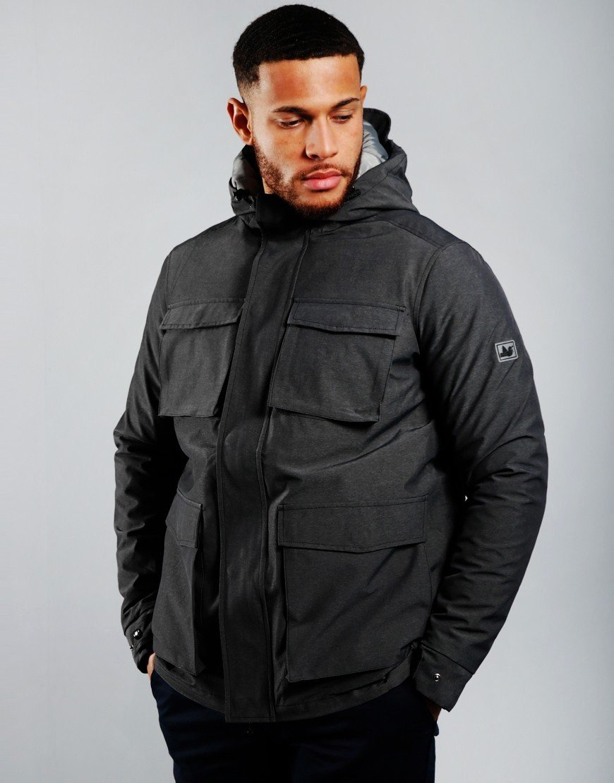 Peaceful Hooligan Charters 3 in 1 Jacket Charcoal