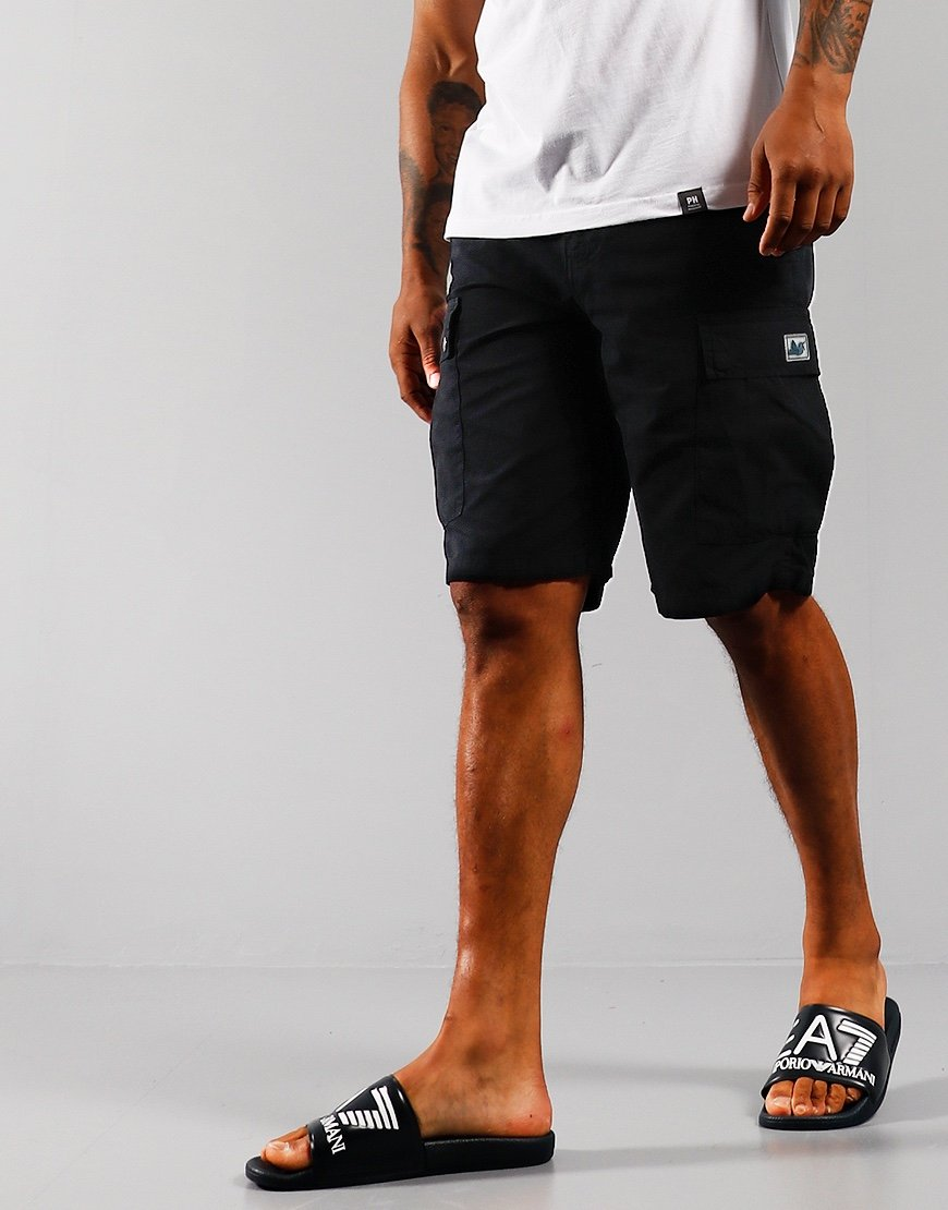 Peaceful Hooligan Container Ripstop Shorts Navy