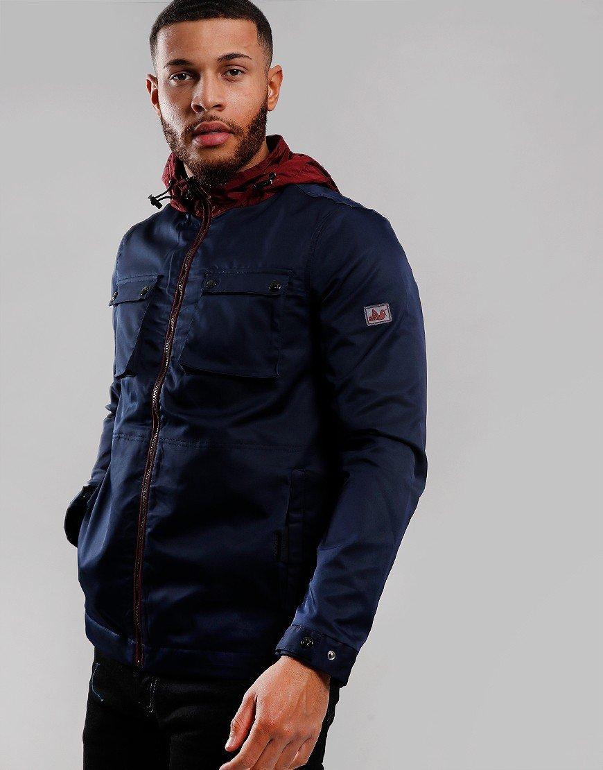 Peaceful Hooligan Dobbs Jacket Navy