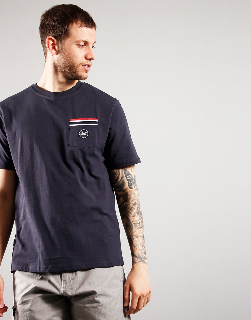 Peaceful Hooligan Floyd T-Shirt Navy