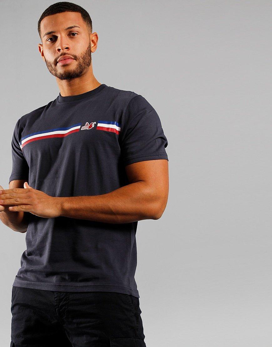 Peaceful Hooligan Maddison T-Shirt Navy